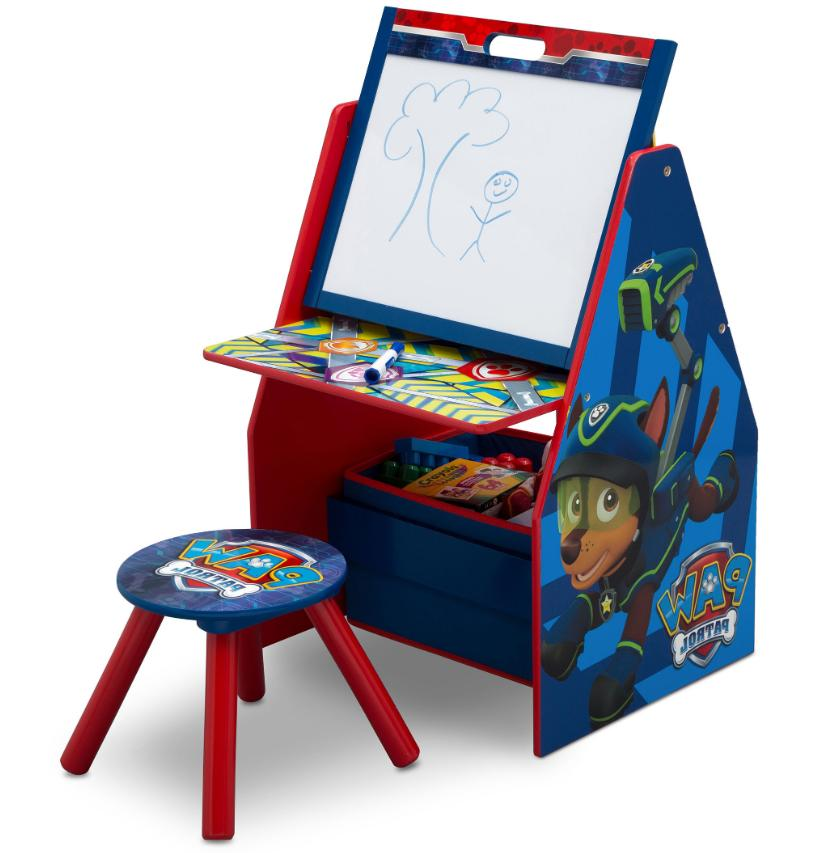 Art Kids Stand Drawing Center Toy Storage