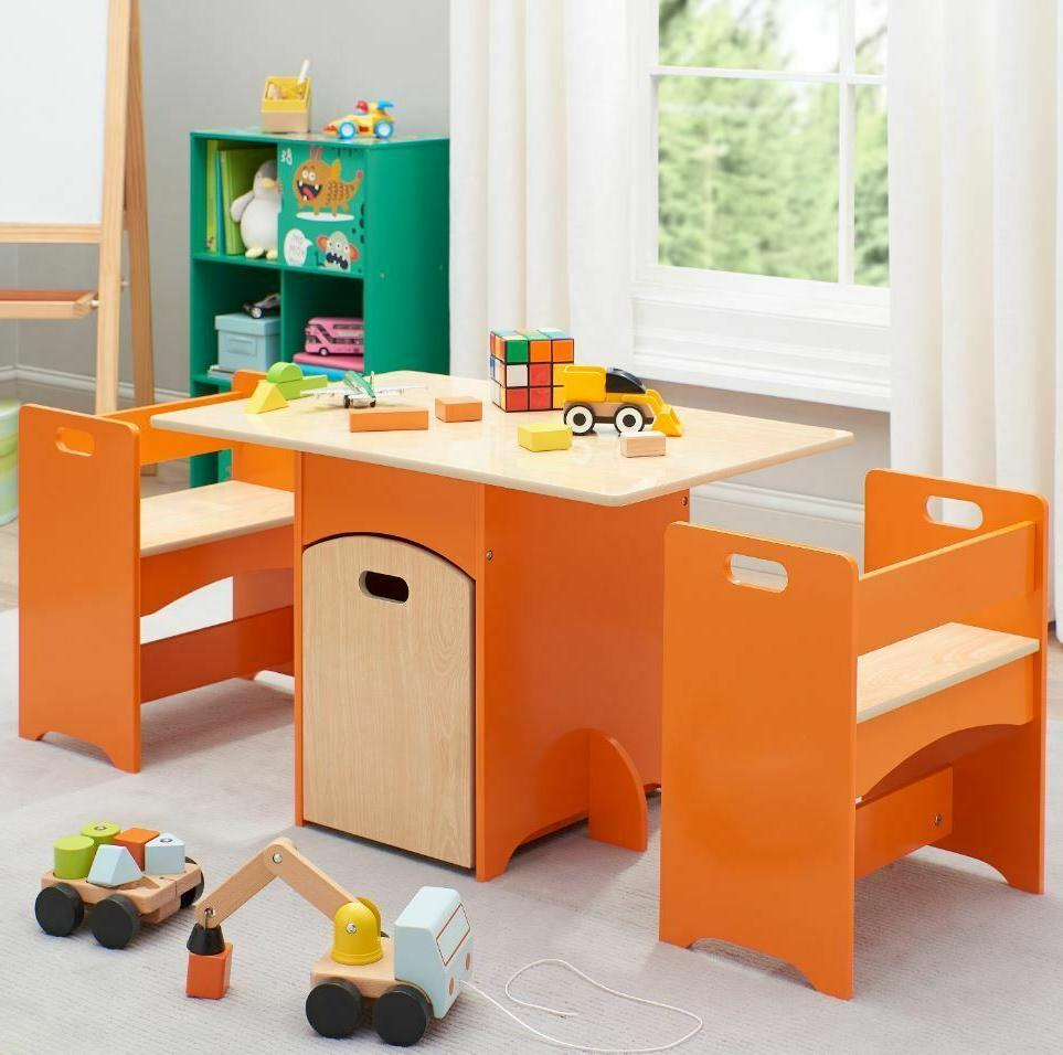Art Table For Kids With Storage Toddler Classroom