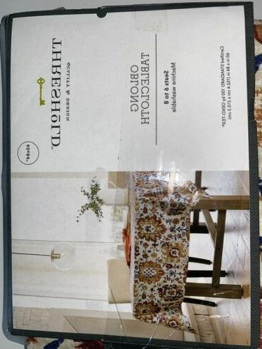 """Threshold 60"""" x Tablecloth Kitchen Table NEW"""