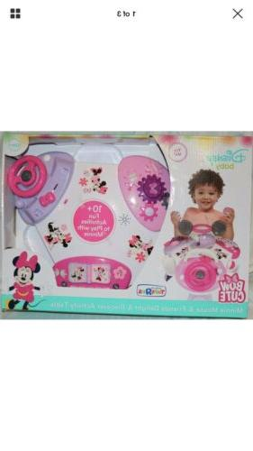 baby activity table for girls minnie mouse