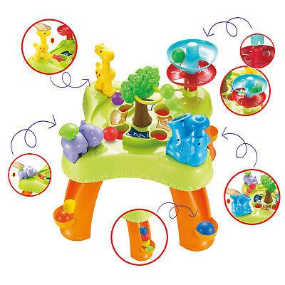 infunbebe Ball Table for Toddlers Learning Game