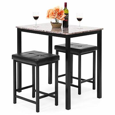 bcp marble table dining set w 2