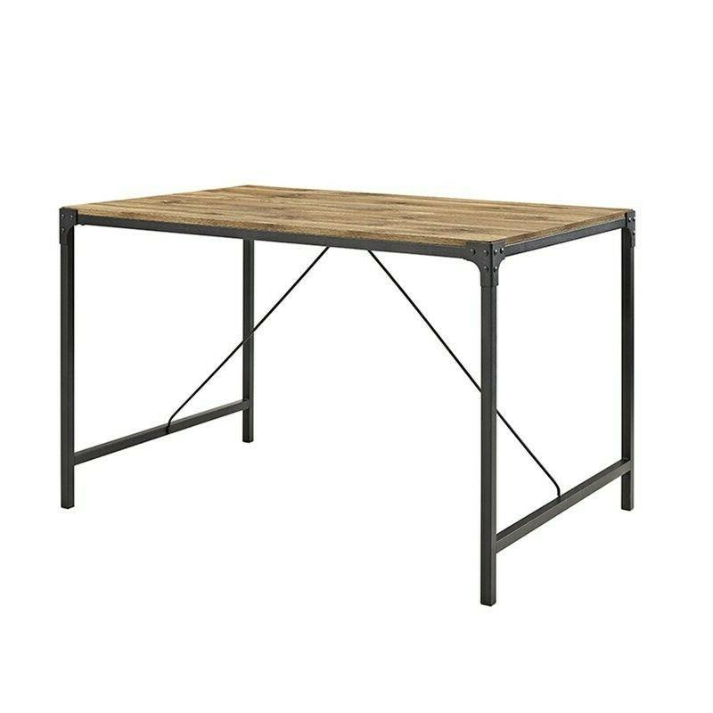 cainsville dining table brown manufactured wood