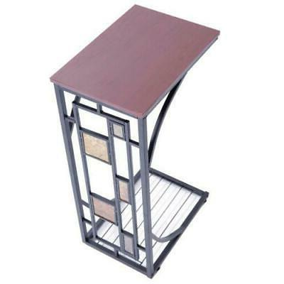 Chair Side Table Small Color Coffee