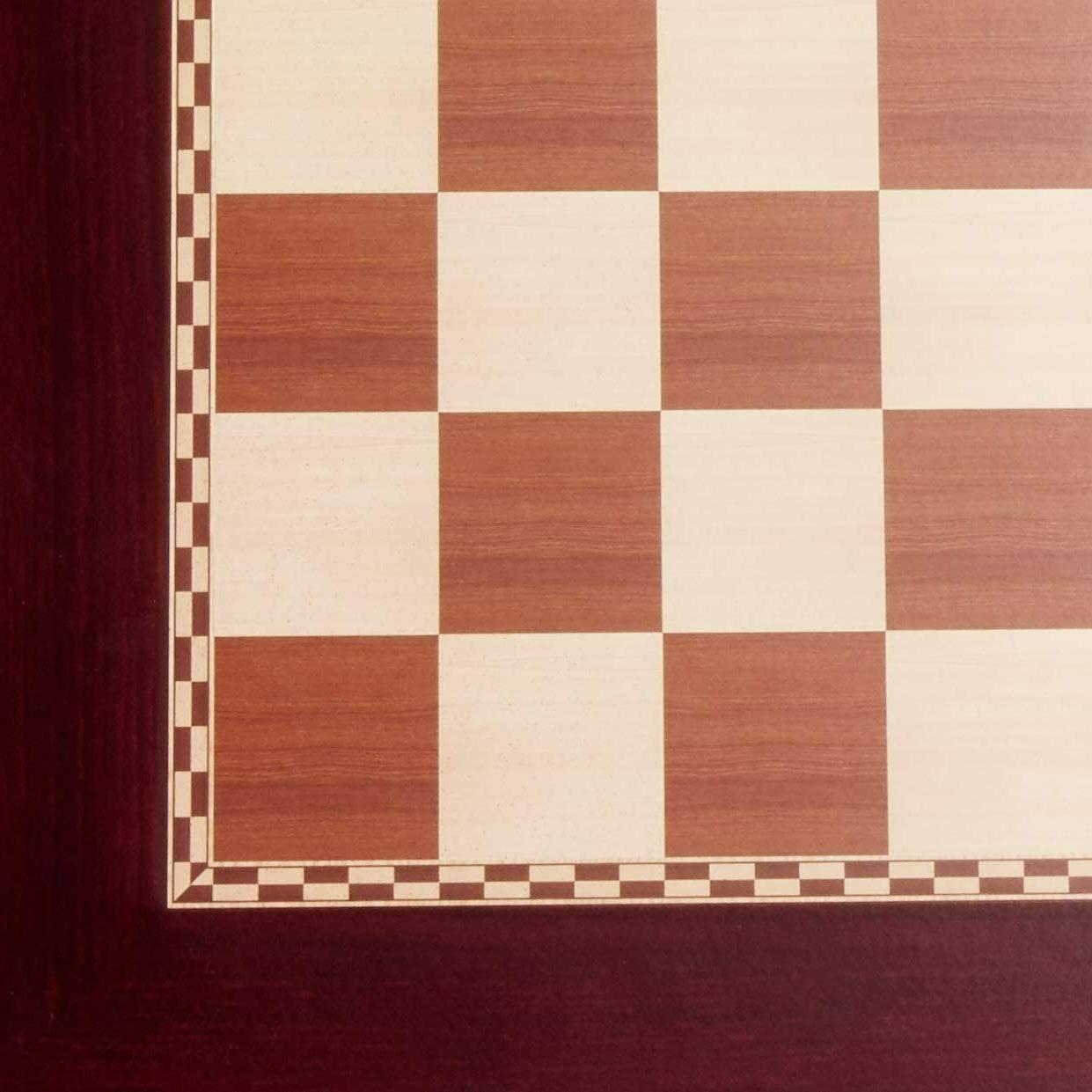 Cherry Chess Table Drawer Top Player Room