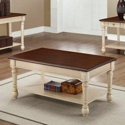coffee table dark brown antique