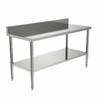 commercial stainless steel work table food prep