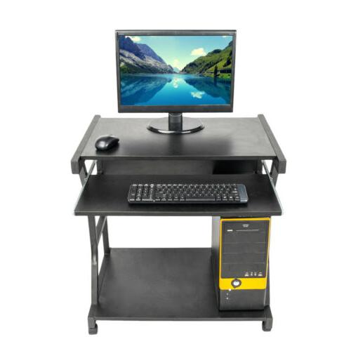Computer Table Desk PC With Wheels Office