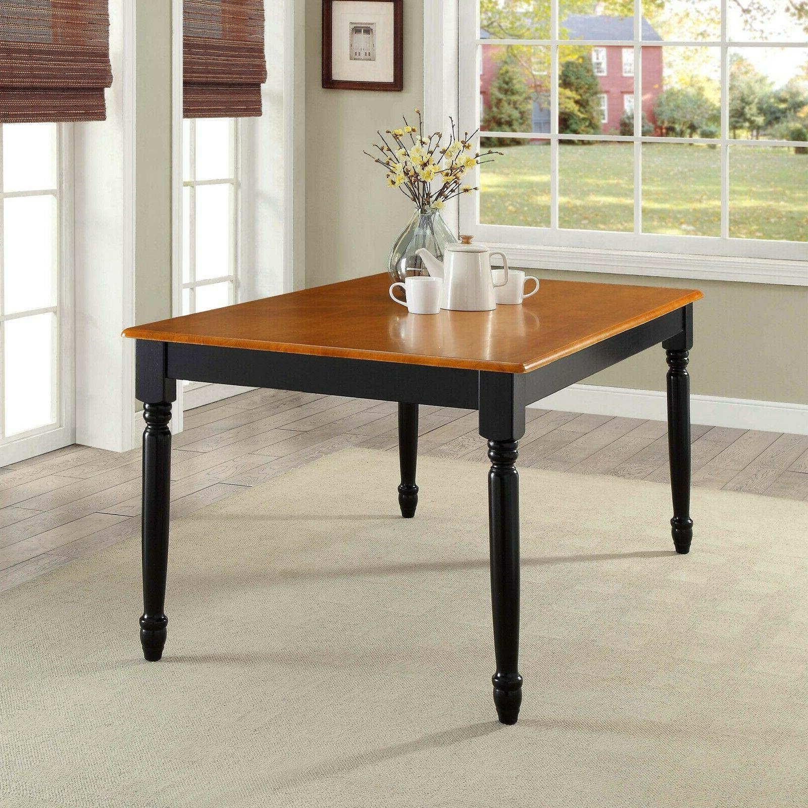 Dining Table Set Farmhouse Kitchen Tables And 7 Piece
