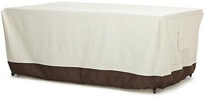 dining table patio cover 72 inch