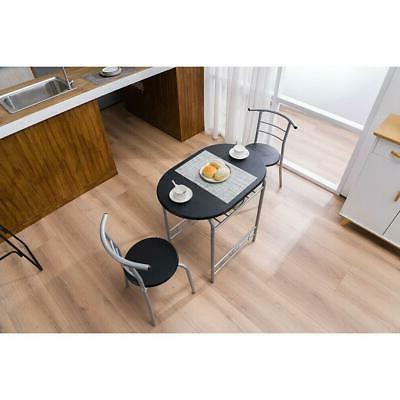 Durable Home Kitchen Color Set Table and 2 Breakfast Bistro