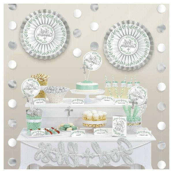 first communion buffet decoration religious ceremony god