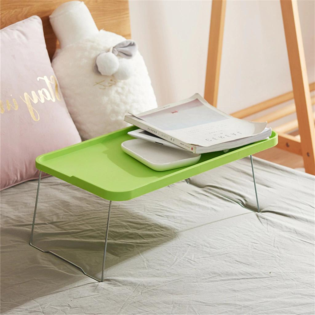 Foldable Desktop Computer Tray Stand for Bed