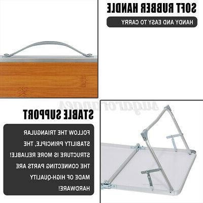 Folding Table Plastic Indoor Picnic Party Camp