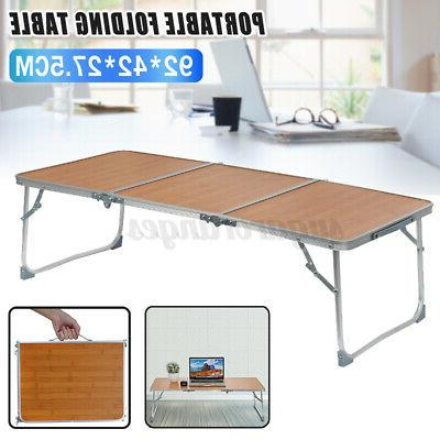 folding table 3 portable plastic indoor outdoor