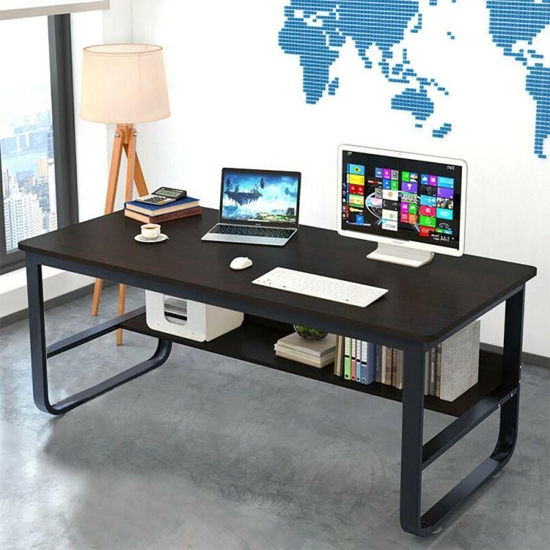 Computer Desk PC Table Wood Home Office