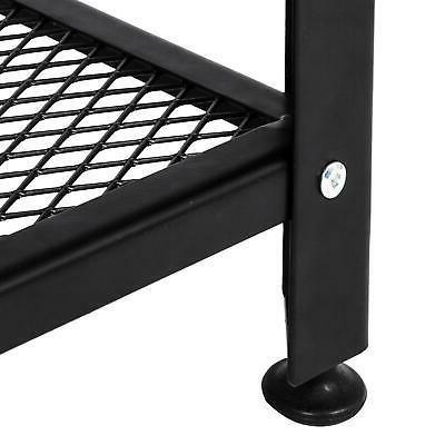 Industrial Tables Shelf Side Table for Living