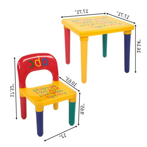 Kids Chair Set Furniture Toddler Toy Play Home Gifts