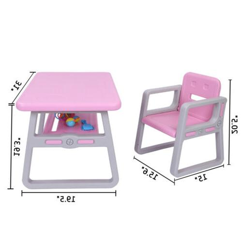 Kids Table Chairs Set Toddler Activity Chair Tables Activity Furniture Toy