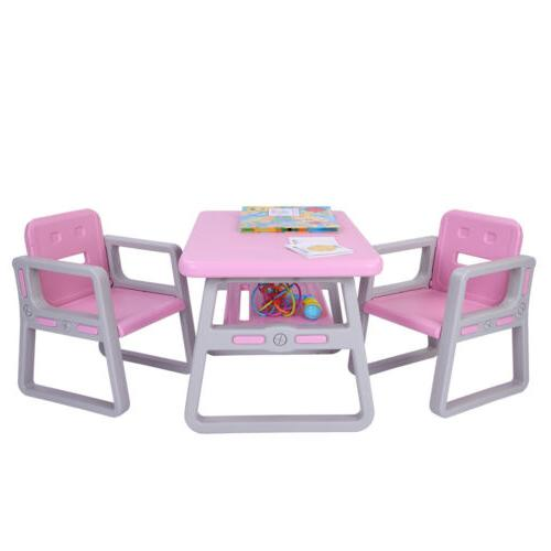 Kids Table Set Toddler Activity Chair Tables Furniture