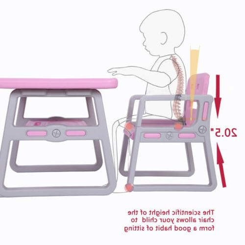 Kids Chairs Set Activity Tables