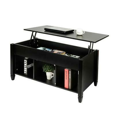 lift top coffee table hidden compartment storage
