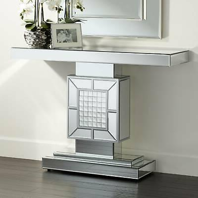 medina 44 wide mosaic mirrored console table