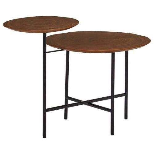 Rivet Mid-Century and End Accent Table,...