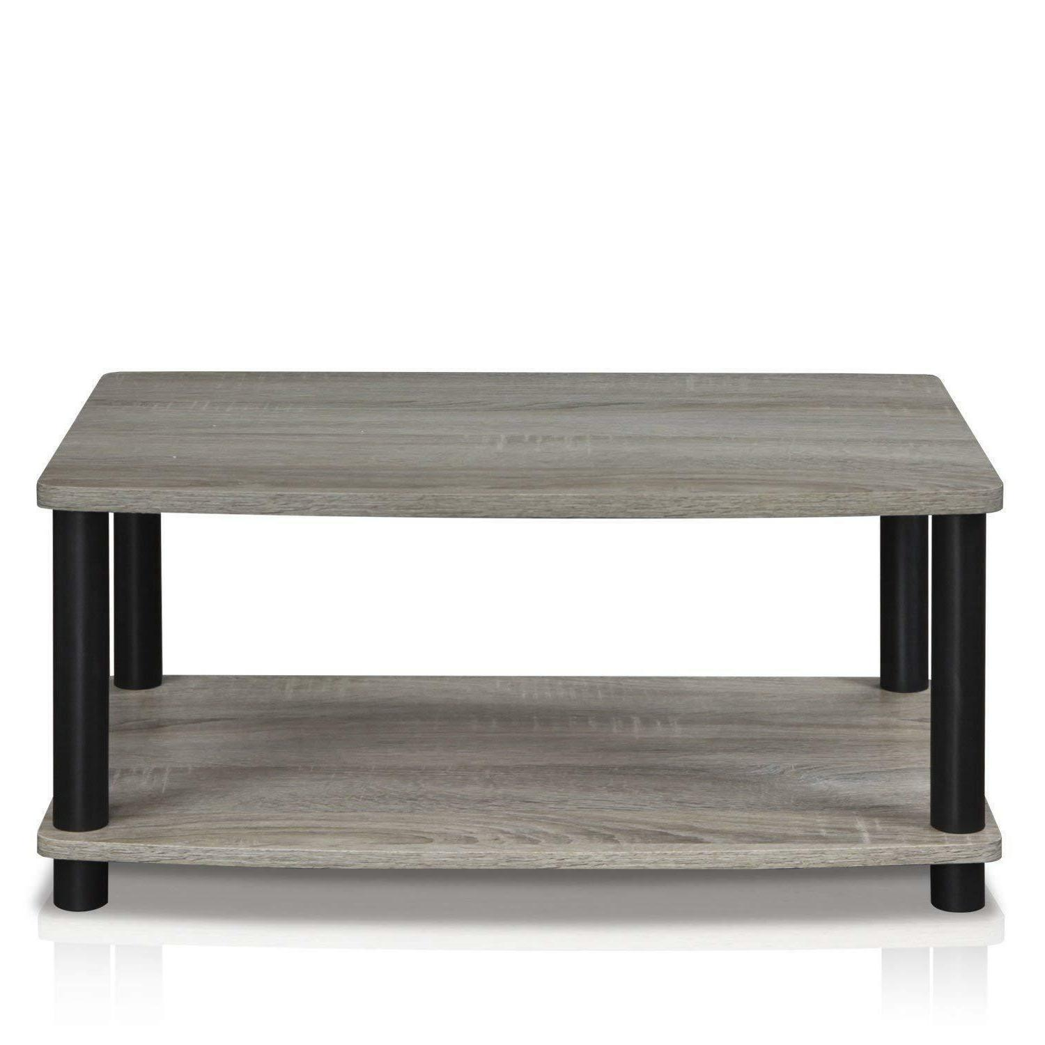 Modern Grey Small Wood Stand Room Furniture New