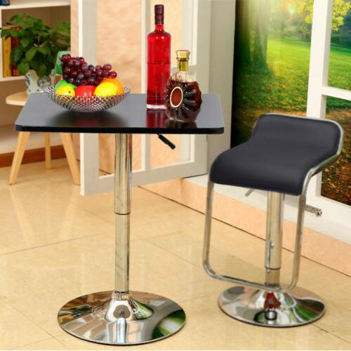 Modern Swivel Counter Table Adjustable Bistro Bar Tables