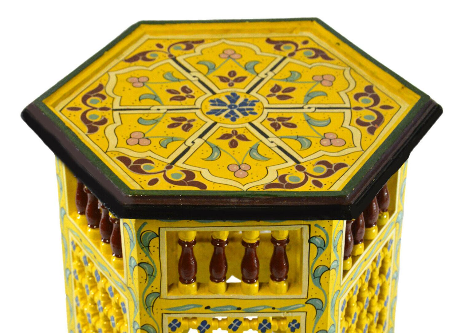 Moroccan Handmade Side Painted Exquisite