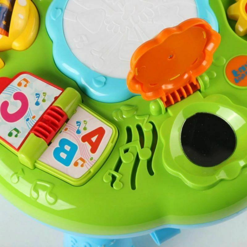 Musical Table Toys & For 1 Year