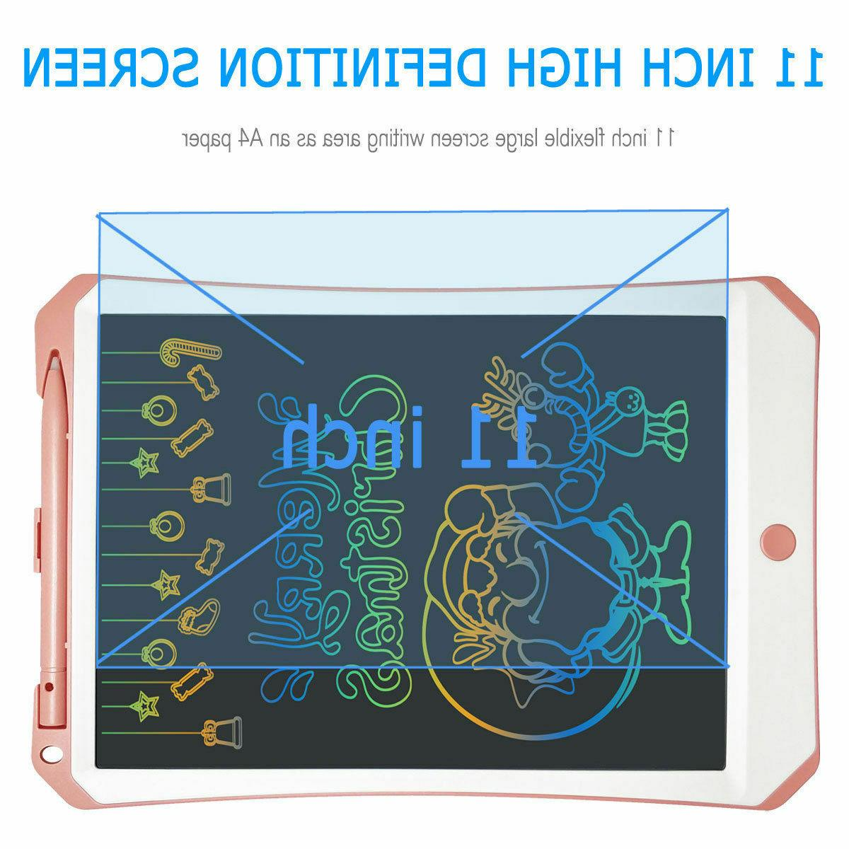 NEW LCD E-Writing Color Tablet Toy Kids
