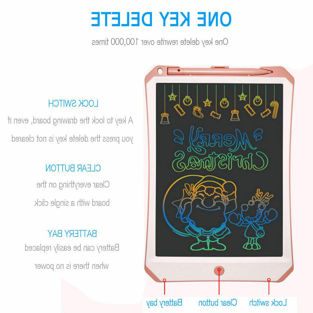 NEW LCD Color Educational Learning Tablet Kids