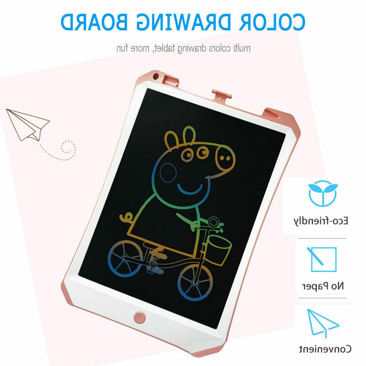 """NEW 11"""" Color Drawing Learning Tablet Kids"""