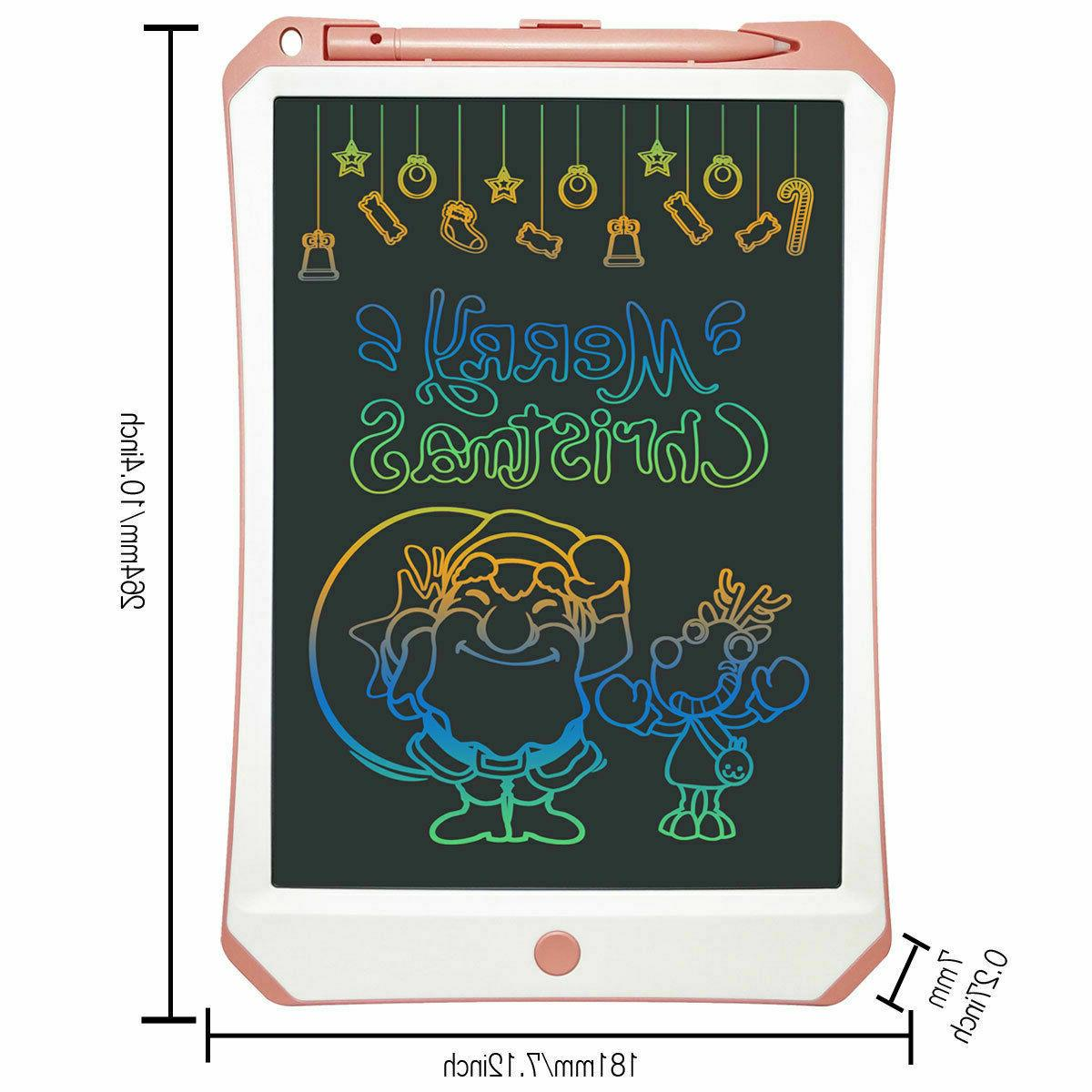 """NEW 11"""" E-Writing Color Drawing Tablet Toy Kids"""