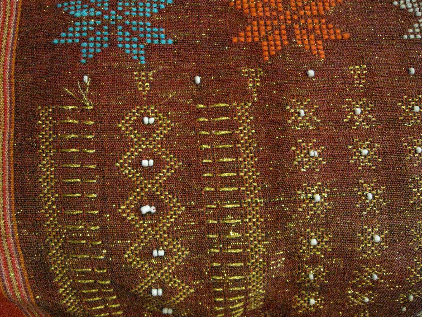 NEW BEADS/COTTON Wall Hanging/Table