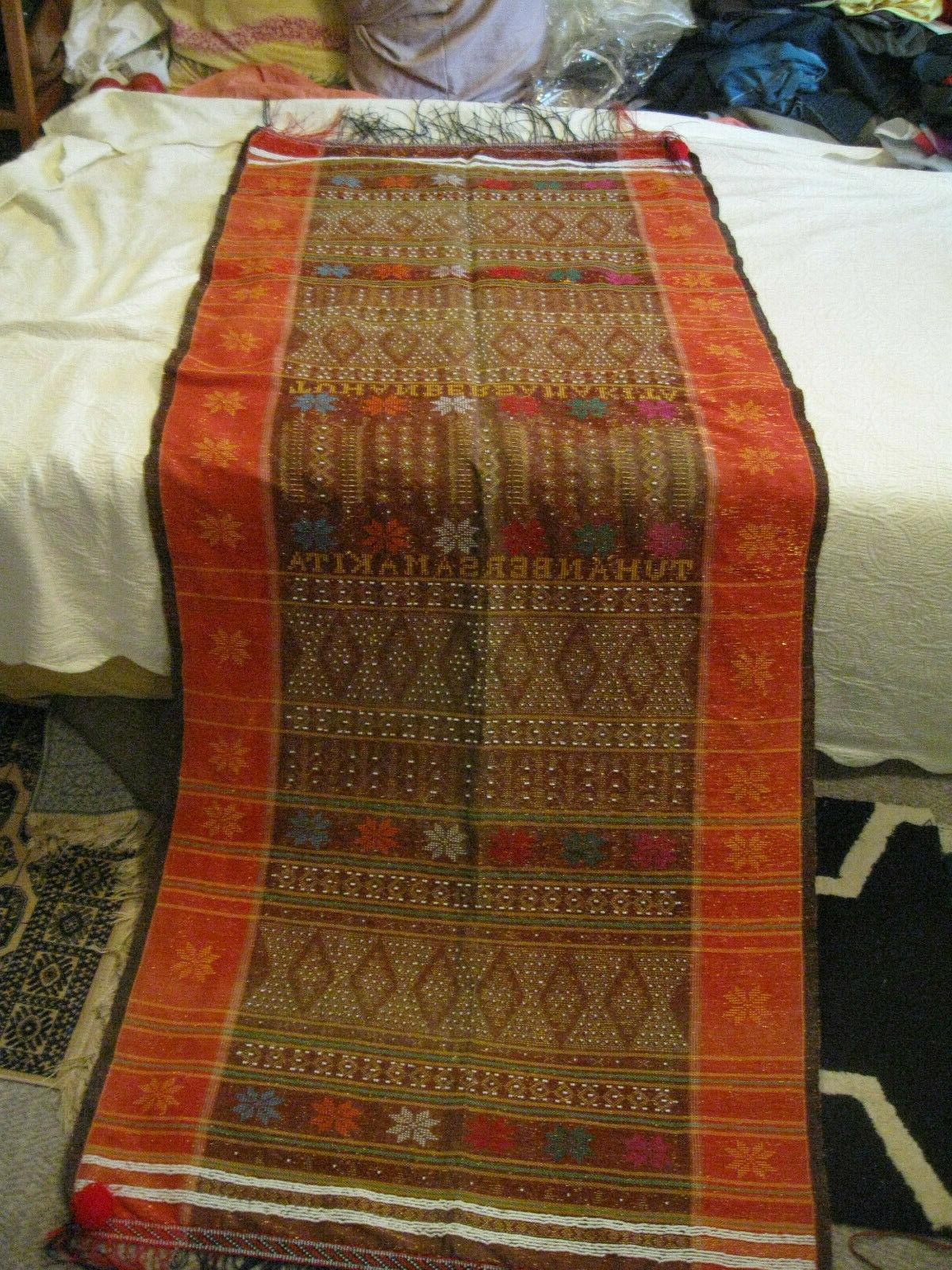 new beads cotton asia weaving wall hanging