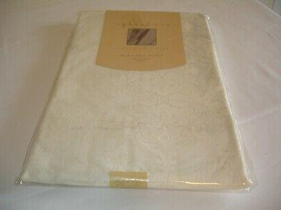 new fabric ivory tablecloth dining kitchen table