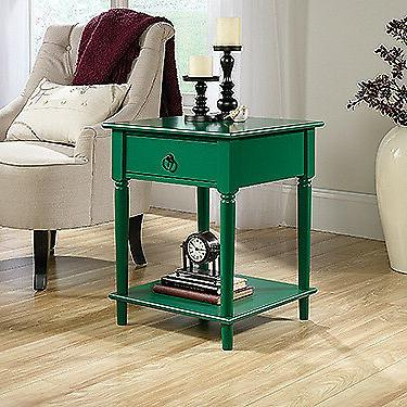palladia side table emerald green