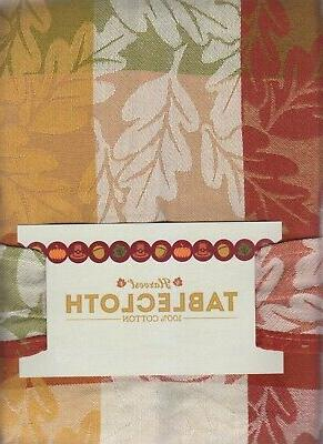 Rectangle Tablecloth Forever 60 x Woven Cloth for
