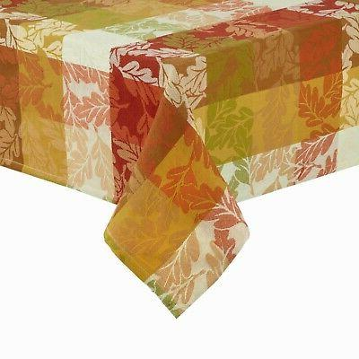 rectangle tablecloth autumn leaves forever 60 x