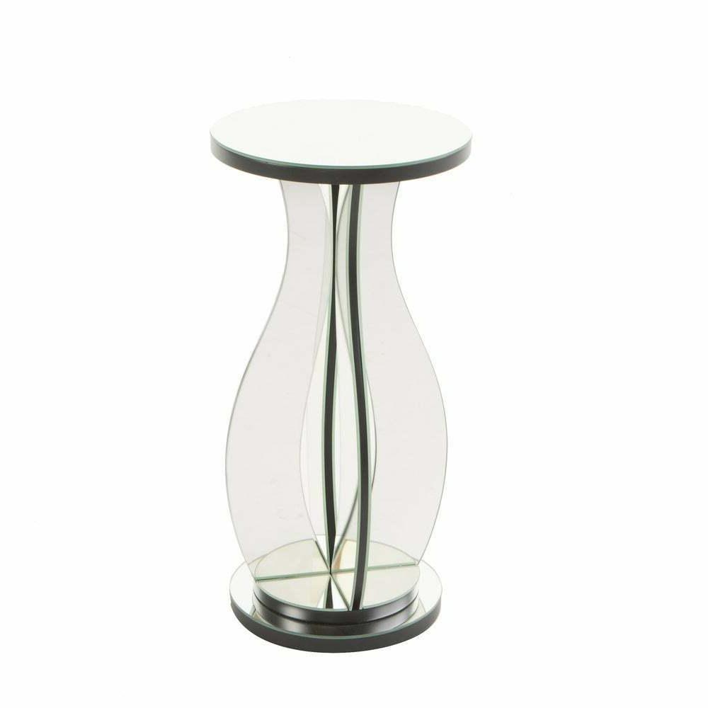 Sena Mirror Side Table by Knight Home - Modern Side Table