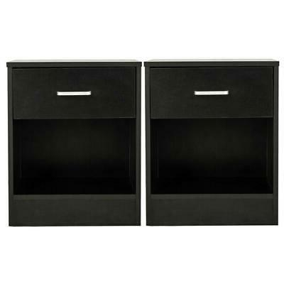 set of 2 night stand 2 layer