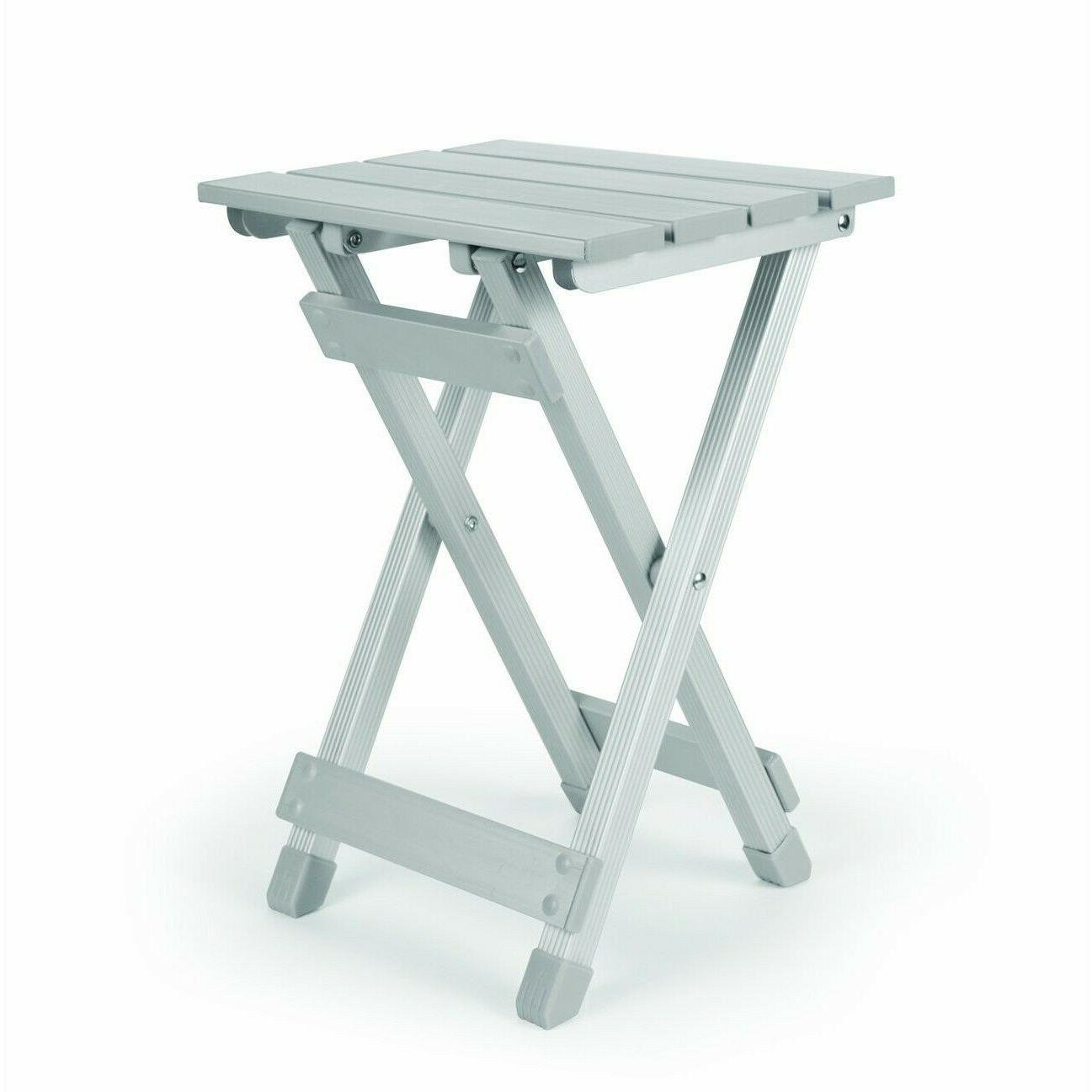 Side Tables For Small Spaces Kitchen Folding Outdoor Fold-Aw