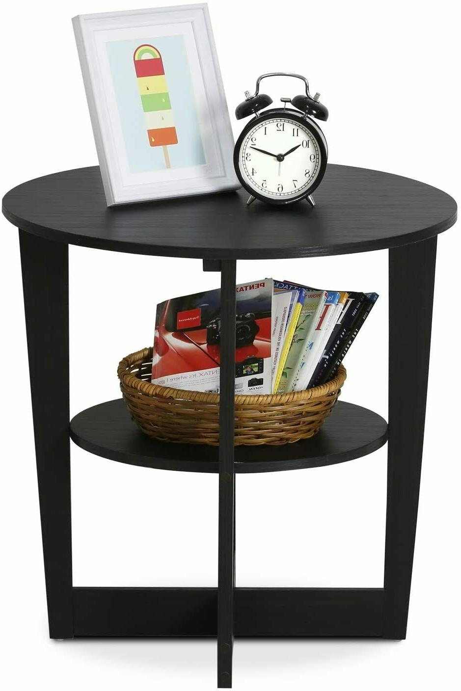 Small End Table Side Storage Furniture