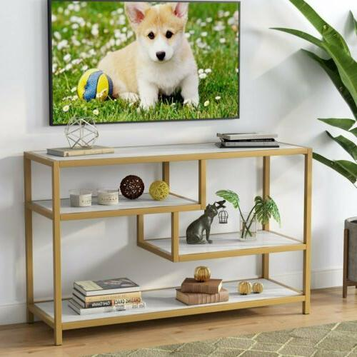 Tribesigns Sofa Table, 3-Tier Console with