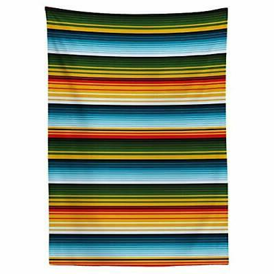 Lunarable Tablecloth, Mexican In Made