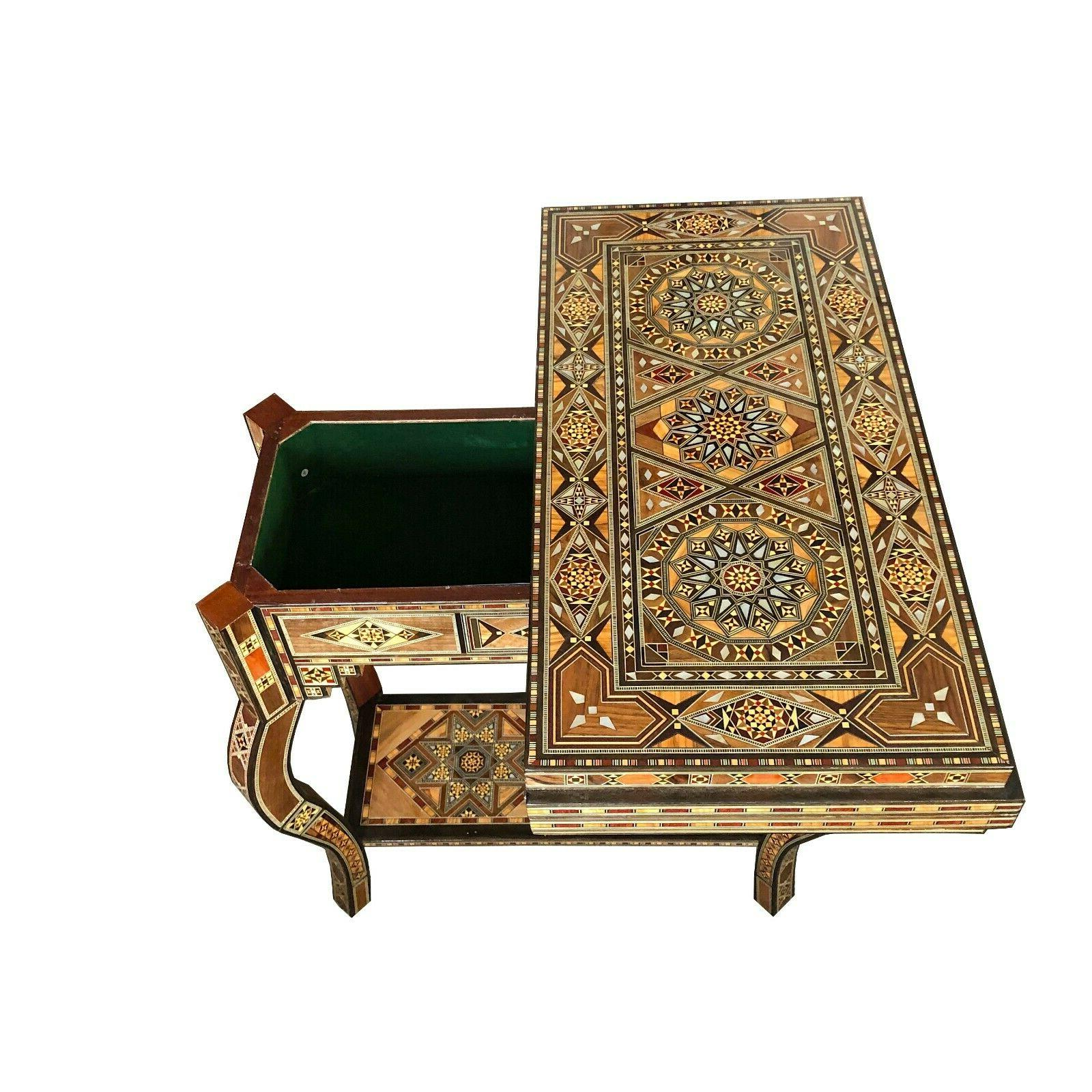 Syrian game table