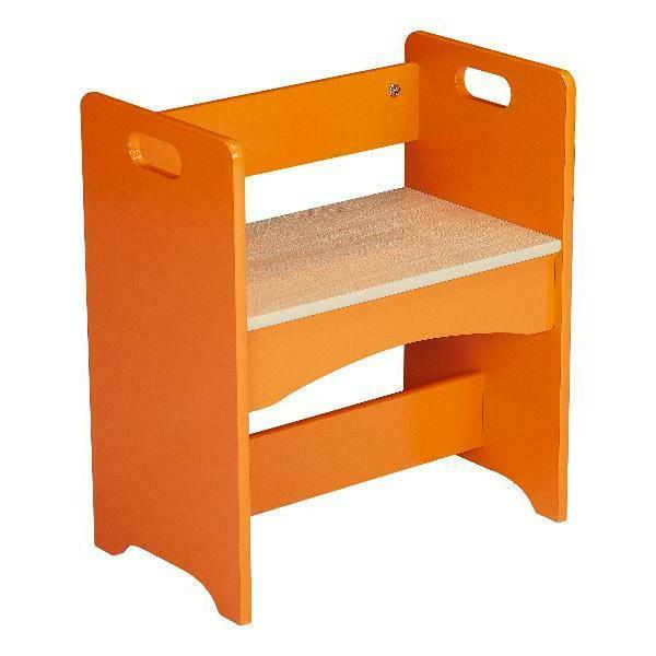 Table for Kids Wooden Storage 4 PCS Childrens Activity